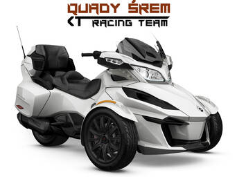 Can-Am Spyder RT LTD 1330 ACE SE6 Pearl White (Dark)