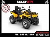 Can-Am Outlander 570 MAX DPS Yellow Homologacja T3