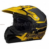KASK BRP CAN-AM XC-3  yelow/black M 4475760610