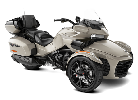 Can-Am Spyder F3 LTD 1330 ACE SE6 Liquid Titanium (Dark) 2020