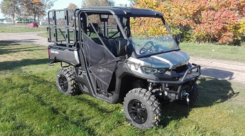 Can-Am Defender HD8 PRO Pure Magnesium