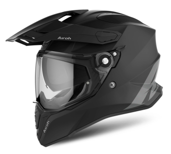KASK AIROH COMMANDER COLOR BLACK MATT ROZ. L