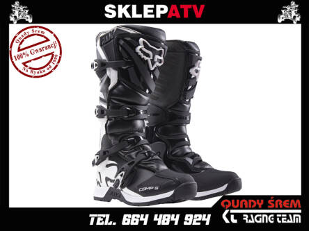 BUTY FOX COMP 5 BLACK 10