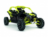 Can-Am Maverick Turbo R X MR Carbon Black-Sunburst Yellow