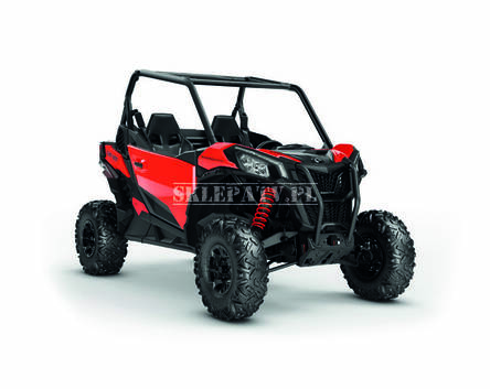 Can-Am Maverick Sport 1000R DPS Black-Can-Am Red