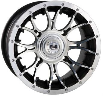 "KOMPLET FELG DWT DIABLO MACHINED 14"" 4/136 4+2 x4"