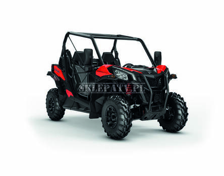 Can-Am Maverick Trail DPS 1000 Black-Can-Am-Red