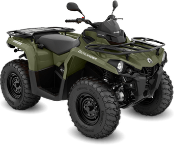 Can-Am Outlander 570 DPS T Green 2020