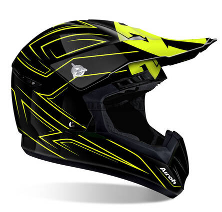 KASK AIROH SWITCH SPACER YELLOW GLOSS L