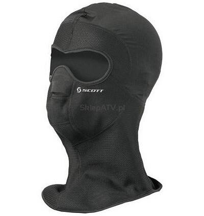 MASKA SCOTT WIND WARROIR HOOD BLACK ROZ. XL