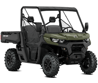 Can-Am Traxter HD8 Green T 2020