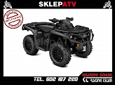 Od ręki! Can-Am Outlander 1000 R XT-P Triple Black Homologacja L7e