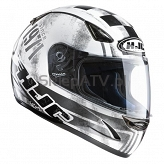 KASK HJC CS-14 LOLA WHITE/ BLACK L