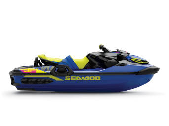 SEA-DOO WAKE PRO 230 Malibu Blue & Neon Yellow