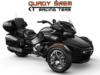 Can-Am Spyder F3 LTD 1330 ACE SE6 Steel Black Metallic (Chrome)
