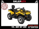 Can-Am Outlander 450 MAX DPS Yellow Homologacja L7e