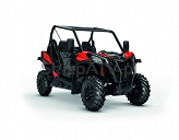 Can-Am Maverick Trail DPS 800 Black-Can-Am-Red