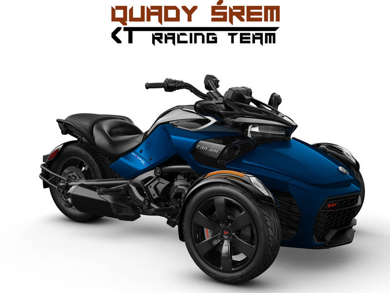 Can-Am Spyder F3 S 1330 ACE SE6 Oxford Blue Metallic