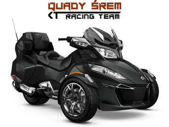 Can-Am Spyder RT LTD 1330 ACE SE6 Asphalt Grey Metallic (Chrome)
