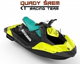 Sea-Doo SPARK 2up IBR 90 Pineapple - Candy Blue