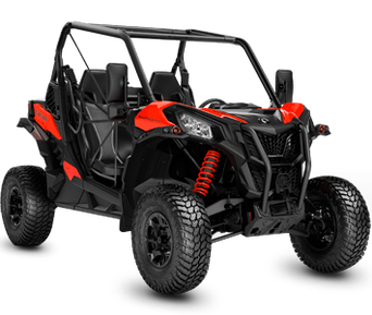 Can-Am Maverick Sport 1000R DPS T Black-Can-Am Red T 2020