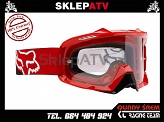 GOGLE FOX AIR SPACE KILLA RED - SZYBA CLEAR