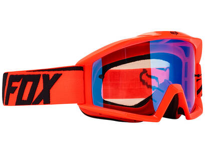 GOGLE FOX MAIN RACE ORANGE - SZYBA BLUE SPARK